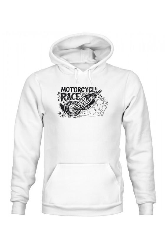 Bluza Męska z Kapturem Motorcycle Race