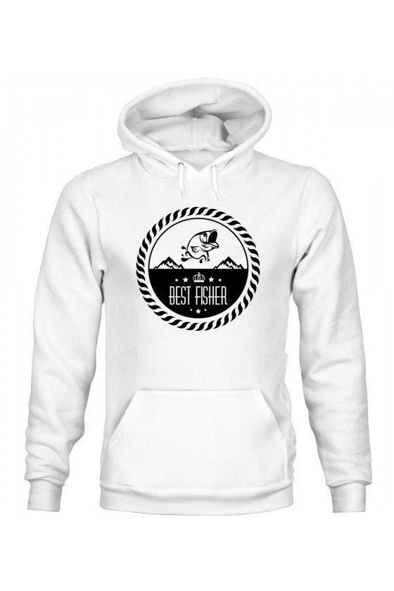 Bluza Męska z Kapturem Best Fisher