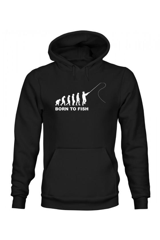 Bluza Męska z Kapturem Fisherman Evolution