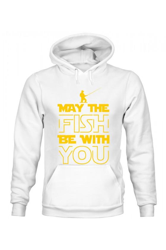 Bluza Męska z Kapturem May The Fish Be With You