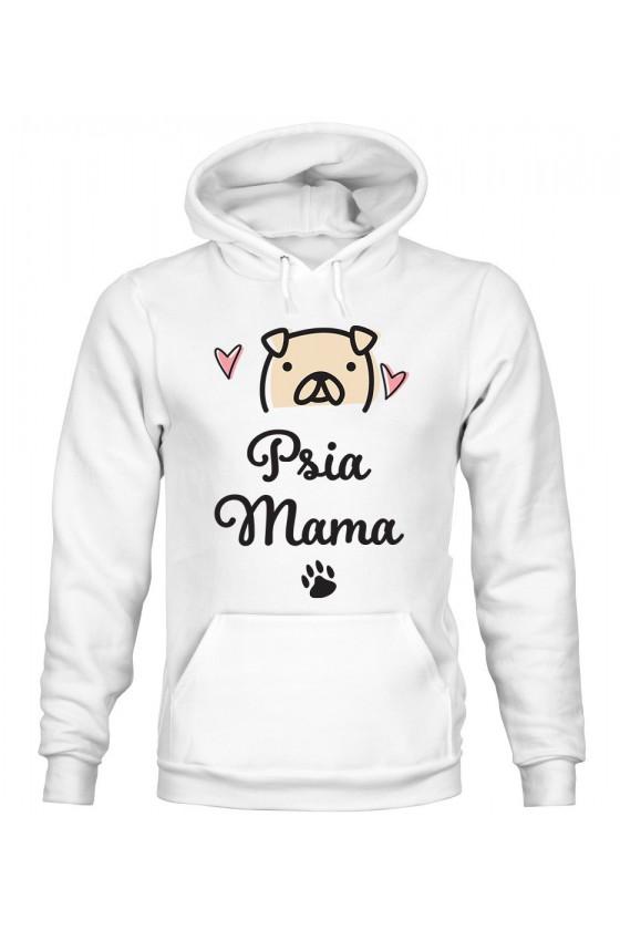 Bluza Damska z Kapturem Psia Mama