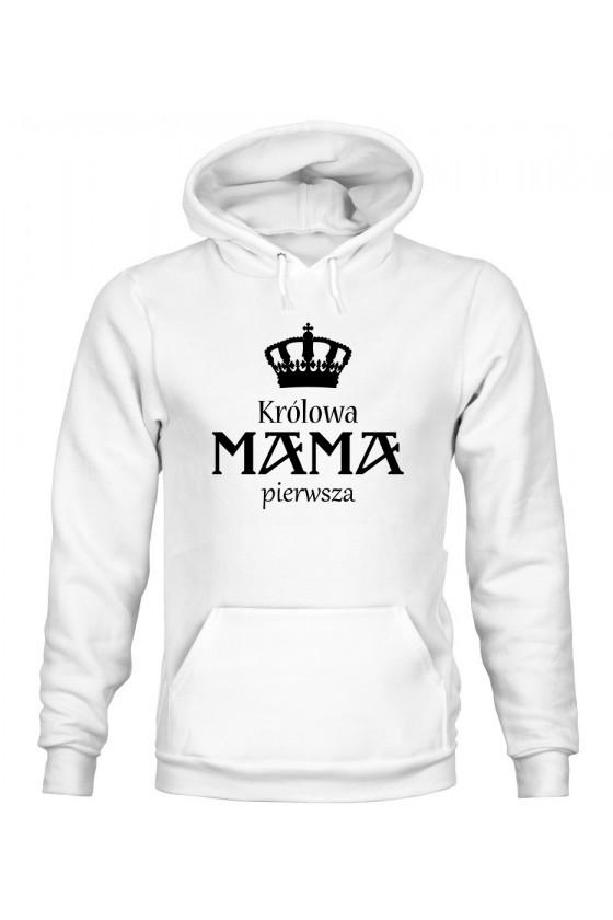 Bluza Damska z Kapturem Królowa Mama Pierwsza