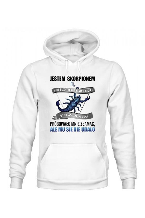 Bluza Damska z Kapturem Jestem Skorpionem