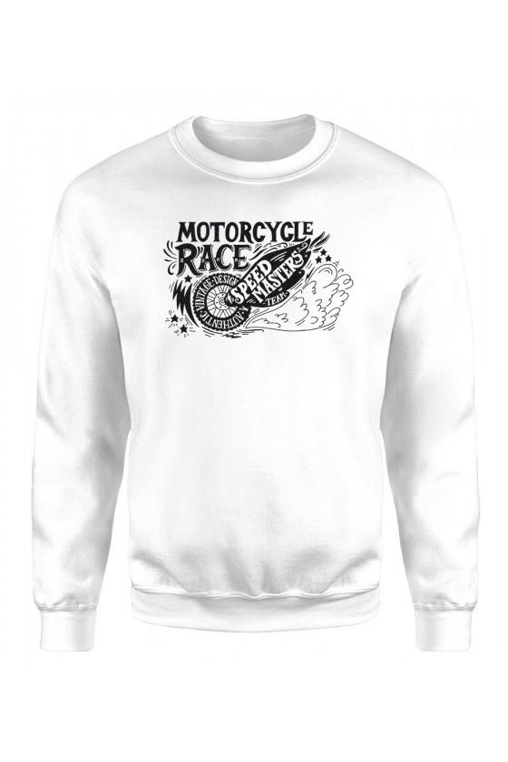 Bluza Męska Klasyczna Motorcycle Race