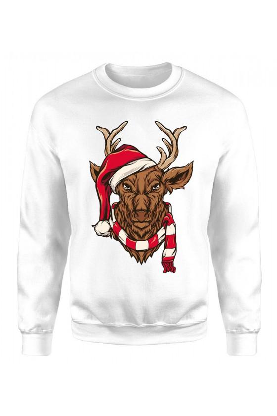 Bluza Męska Klasyczna Świąteczny Jeleń