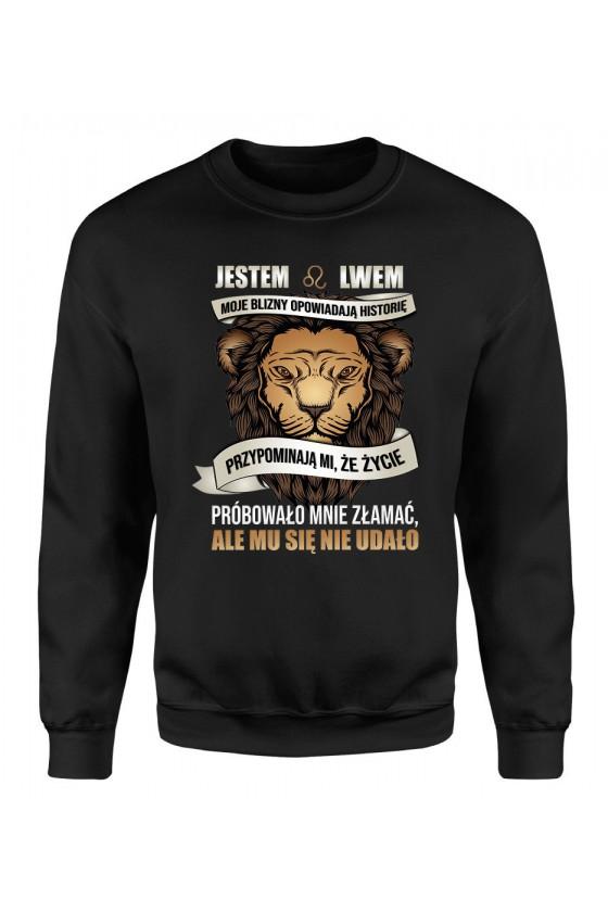 Bluza Męska Klasyczna Jestem Lwem