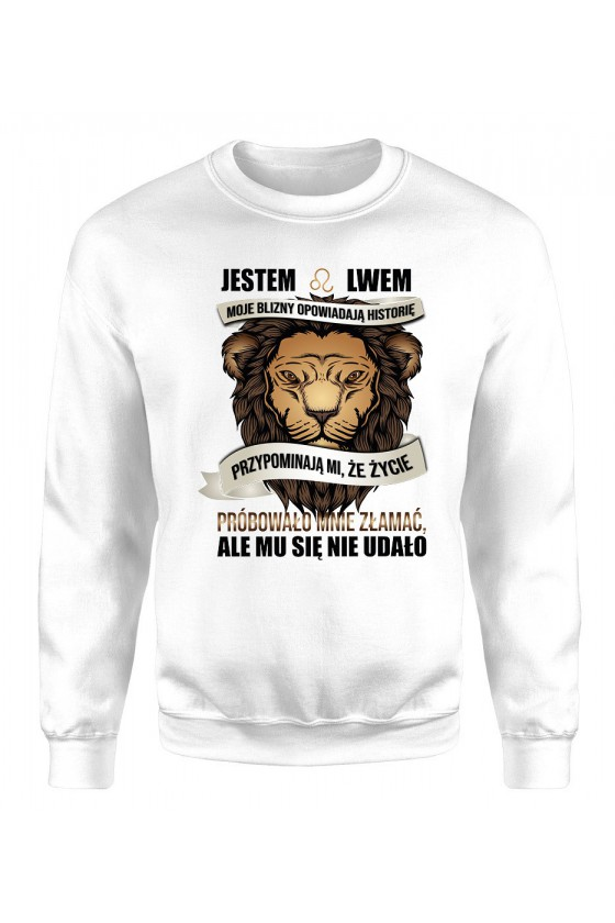 Bluza Damska Klasyczna Jestem Lwem