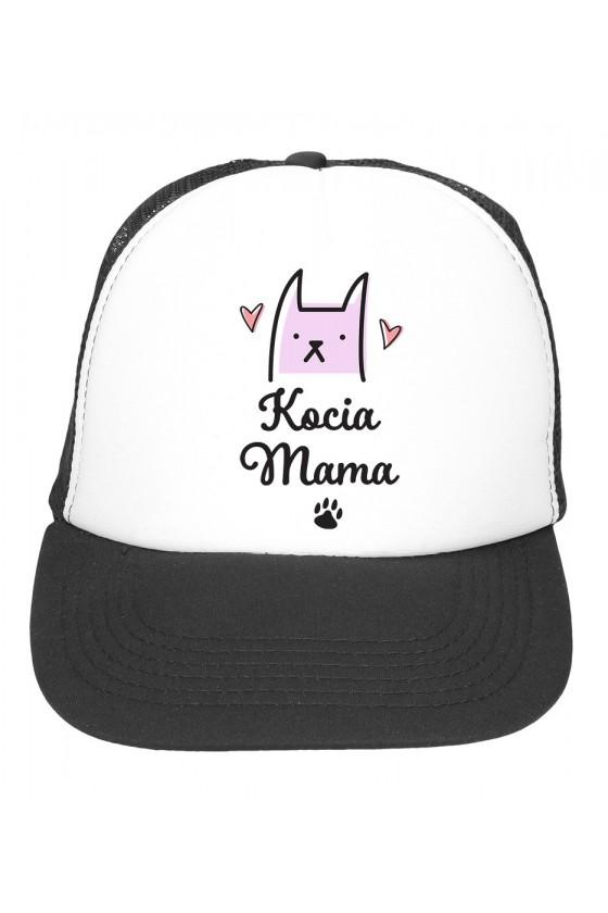 Czapka z daszkiem Kocia Mama