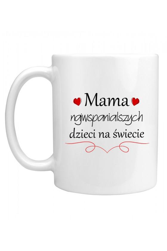 Kubek Mama Najwspanialszych Dzieci Na Świecie