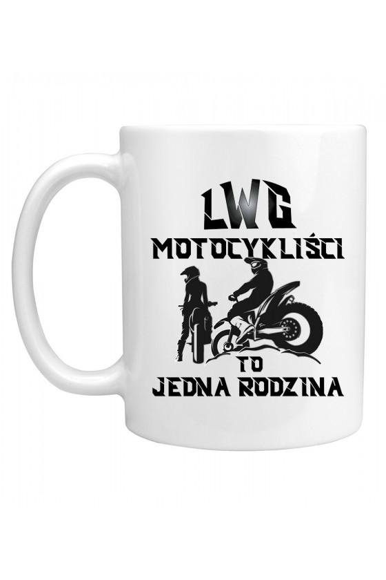 Kubek LWG Motocykliści To Jedna Rodzina