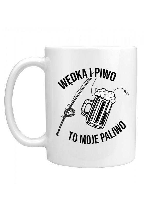 Kubek Wędka I Piwo To Moje Paliwo