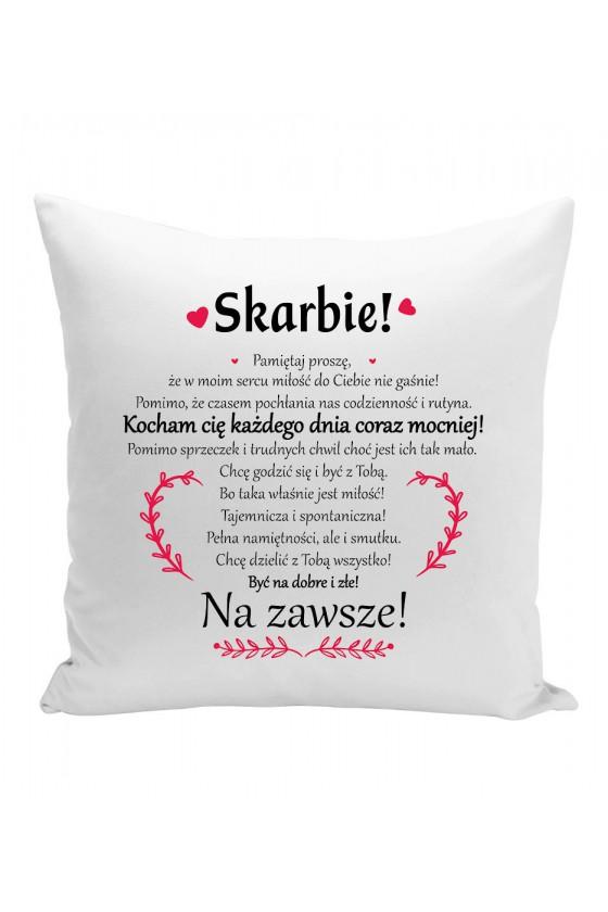 Poduszka Skarbie!