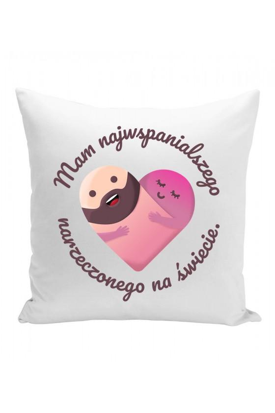 Poduszka Mam najwspanialszego narzeczonego na świecie