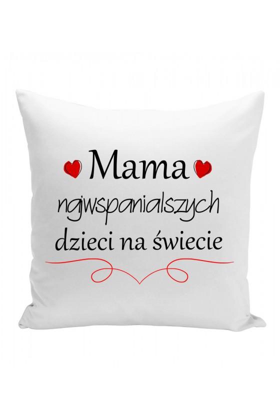 Poduszka Mama Najwspanialszych Dzieci Na Świecie