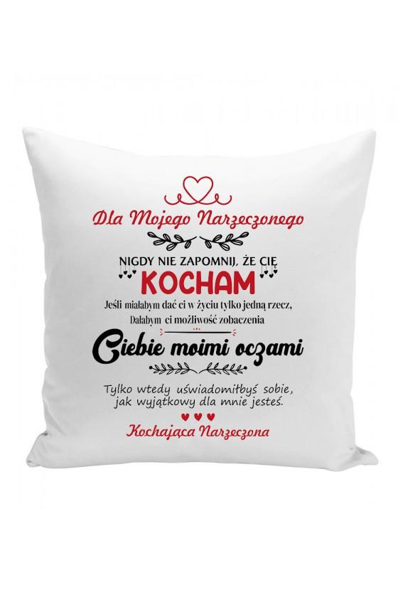 Poduszka Dla Mojego Narzeczonego, Nigdy Nie Zapomnij, Że Cię Kocham