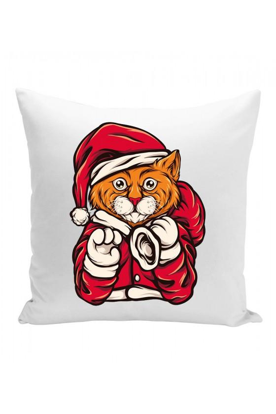Poduszka Świąteczny Kot
