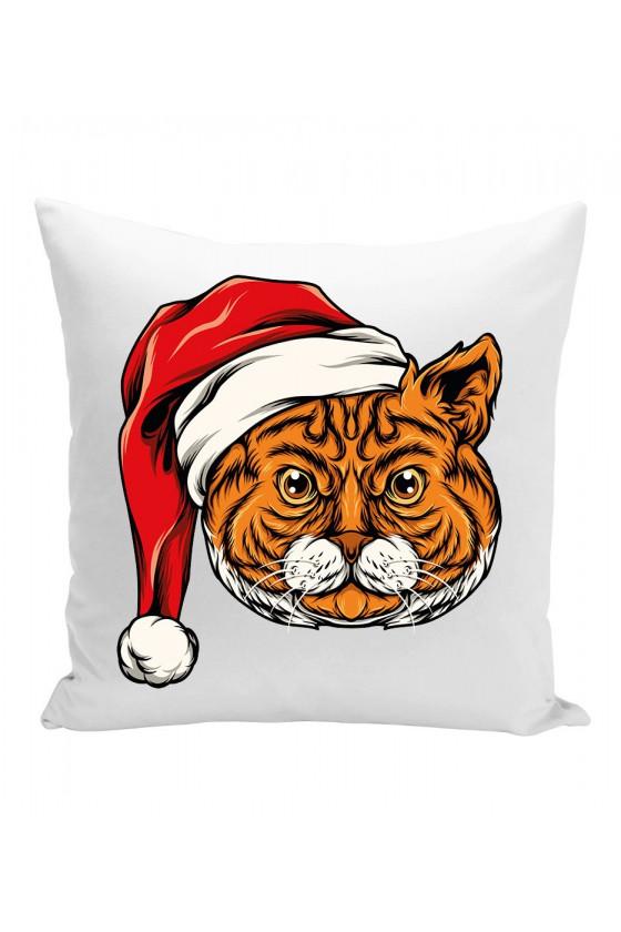 Poduszka Świąteczny Kot II