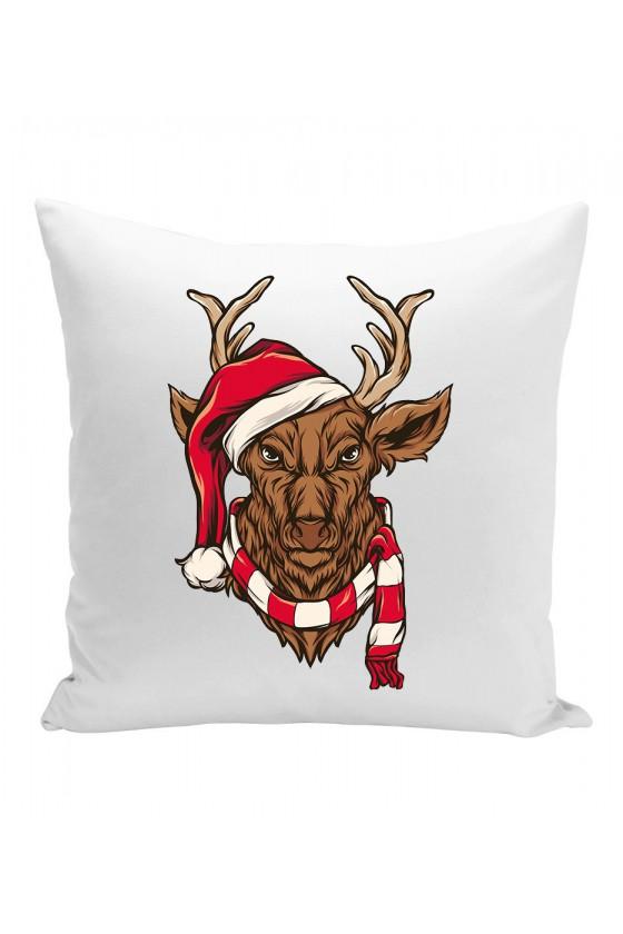 Poduszka Świąteczny Jeleń