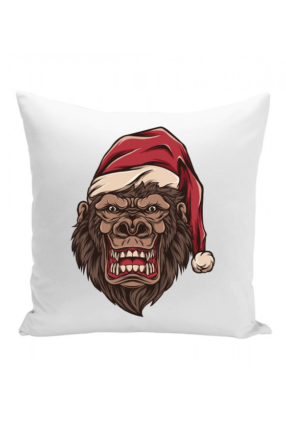 Poduszka Świąteczny Goryl