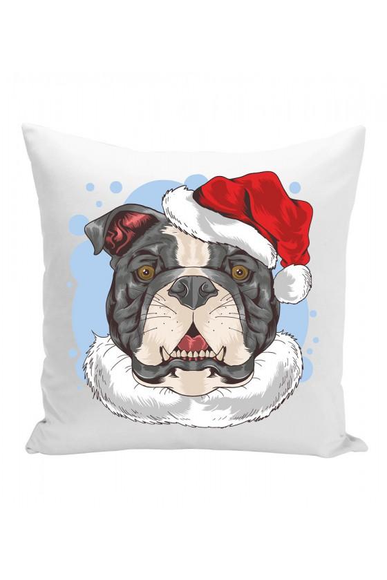 Poduszka Świąteczny Pies