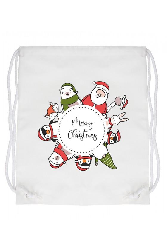 Worek Merry Christmas