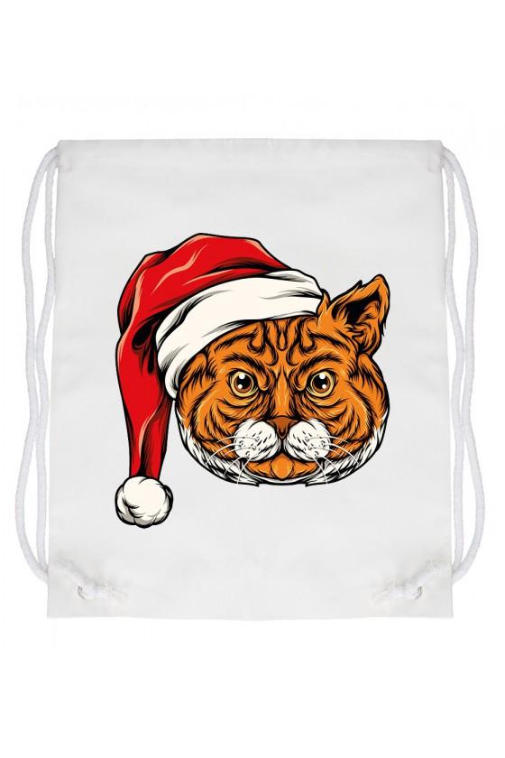 Worek Świąteczny Kot II