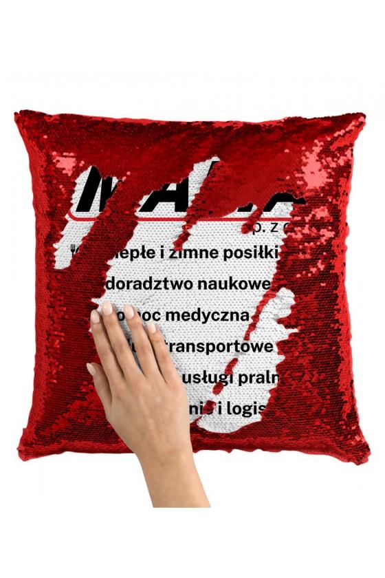 Poduszka z Cekinami MAMA SP. Z.O.O.