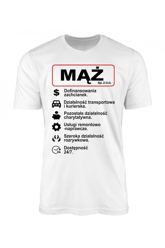 Koszulka Męska MĄŻ SP. Z.O.O.