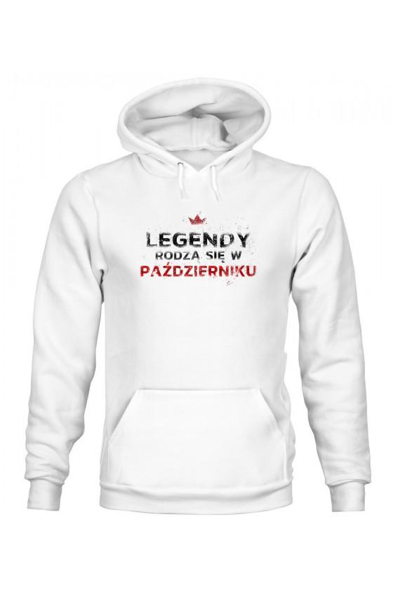Bluza Męska z Kapturem Legendy Rodzą Się W Październiku